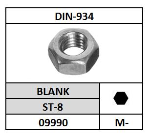 D934-ZESKANTMOER/ST-8-BLANK/M-16