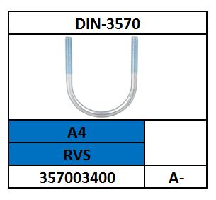 DRAADBEUGEL-RONDE U A-120 ROESTVASTSTAAL A4 DIN 3570