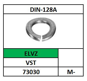 D128A-VEERRING-GEWELFD/VST-MEVZ/M-16