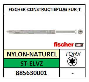CONSTRUCTIEPLUG-FUR-T 8X80T FISCHER