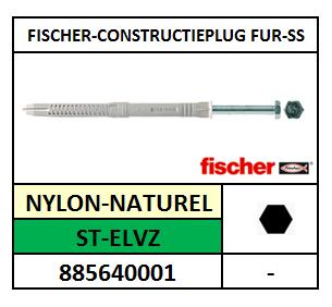CONSTRUCTIEPLUG-FUR-SS 8X80 FISCHER