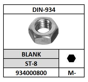 D934-ZESKANTMOER/ST-8-BLANK/M-8