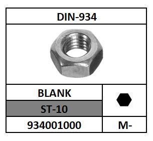 D934-ZESKANTMOER/ST-10-BLANK/M-16