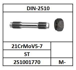 D2510L/STUDEIND+ZESKANTMOEREN/ST-21CrMoV5-7/M-12X65