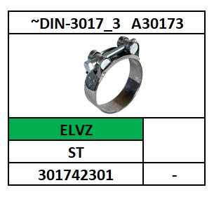 D3017C/SLANGKLEM/ST-ELVZ/27-29\18