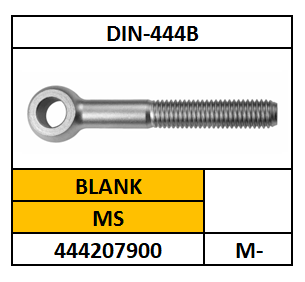 D444B/KNEVELSCHROEF/MS-BLANK/M-6X40