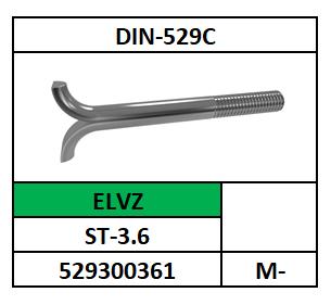 D529C/FUNDATIEEIND/ST-3.6-ELVZ/M-8X80