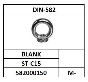 D582/OOGMOER/ST-C15E-BLANK/M-6