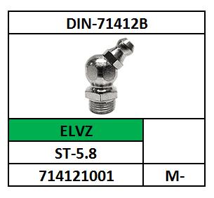 D71412B/SMEERNIPPEL-45 GRADEN/ST-ELVZ/M-8