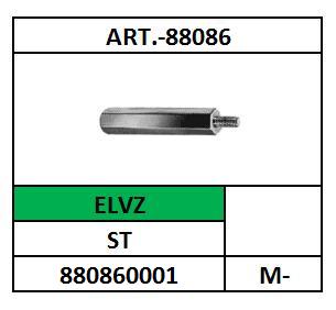 AFSTANDSTUK-6K-BINNEN+BUITENDRAAD M-3X5 STAAL VERZINKT A88086