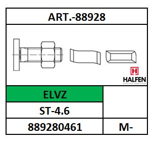 A88928/HAMERKOPBOUT+MOER-TYPE 28-HALFEN15/ST-4.6-ELVZ/M-6X15