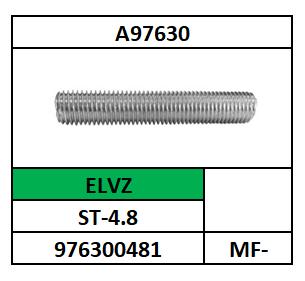 A97630/DRAADEIND-HOL TBV FITTING/ST-4.8-ELVZ/MF